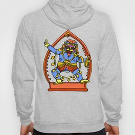 Ancient Egyptian Painting - Male Deity Hoody