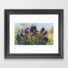 Lavender Hues Framed Art Print