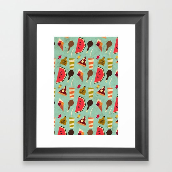 Yummy! Framed Art Print