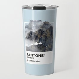 Pantone Series – Mountain Mist Travel Mug