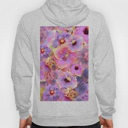 Tropical hibiscus patterns Flower Floral Flowers Hoody