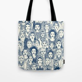 WOMEN OF THE WORLD BLUE Tote Bag