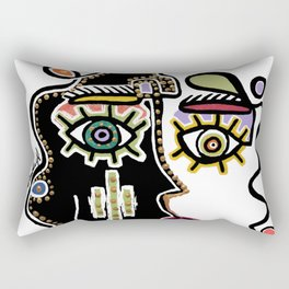 portrait 4 Rectangular Pillow