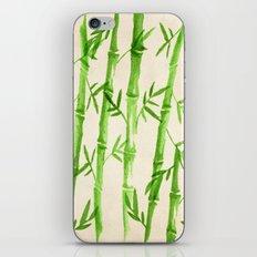 Bamboo Pattern iPhone & iPod Skin