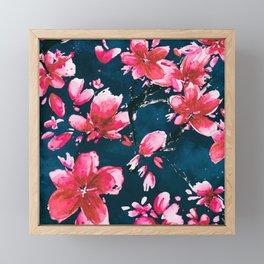 Red Moods Framed Mini Art Print