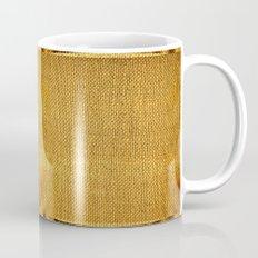 Burlap texture look Mug