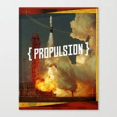 Propulsion Canvas Print