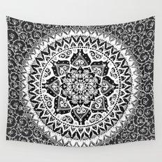 Yin Yang Mandala Pattern Wall Tapestry