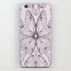 Rose Quartz Insect Wings iPhone & iPod Skin