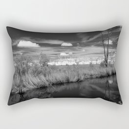 Cypress Cemetery Rectangular Pillow