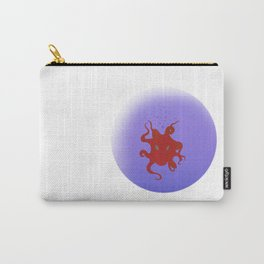 Octopus is coming out of the bubble Carry-All Pouch