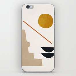 abstract minimal 6 iPhone Skin