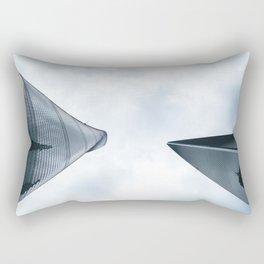 Shanghai - China Rectangular Pillow