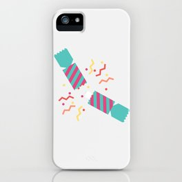 #50 Christmas Cracker iPhone Case