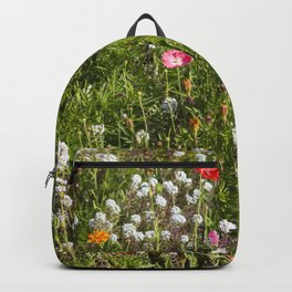 Field of Wild Flowers Backpack
