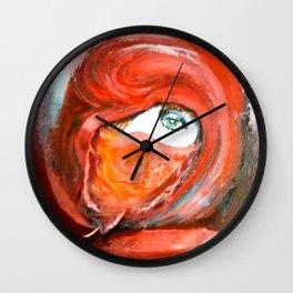 Lady in Veil Wall Clock