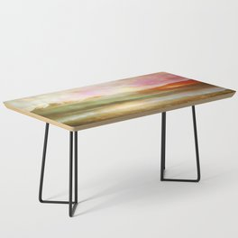 Sunset and flowers Coffee Table