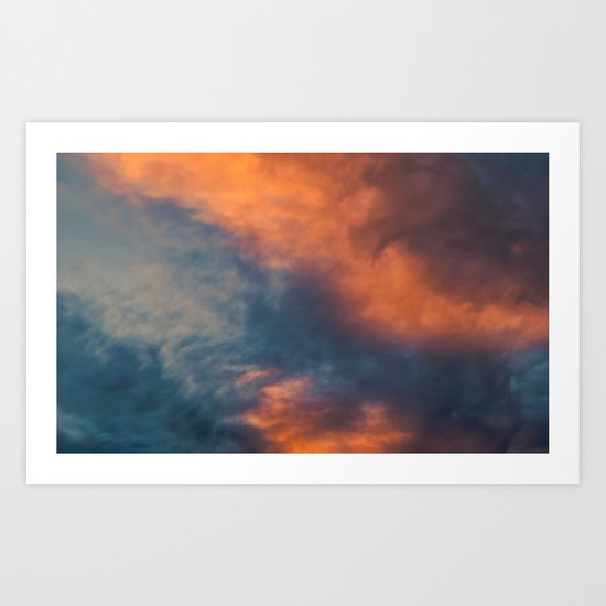 Painting with Solar Rays Art Print