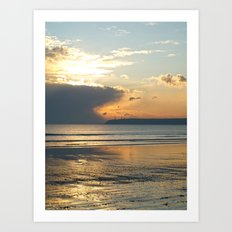 Beachside. Tramore, Co. Waterford Art Print