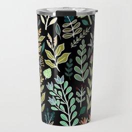 Dark Botanic Travel Mug