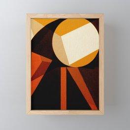 Jaburu (Jabiru) Framed Mini Art Print