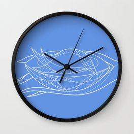 Sleeping bird Wall Clock