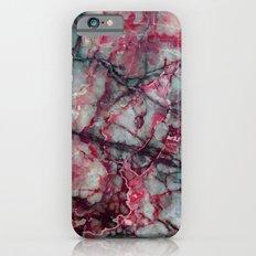 Grey Marble Slim Case iPhone 6