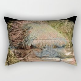 Mexico Hut Strong oils Rectangular Pillow