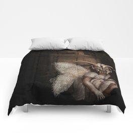 baby mothra Comforters