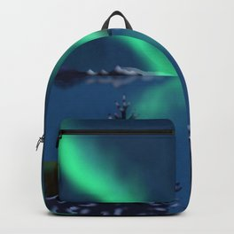 Winter Northern Lights Backpack