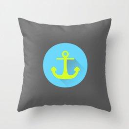 Drop The Anchor Throw Pillow