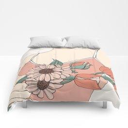 Daisies & Tulips Comforters
