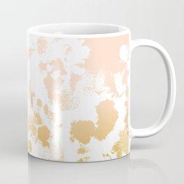 Essie - abstract minimal gold painting metallics home decor minimalist hipster Coffee Mug