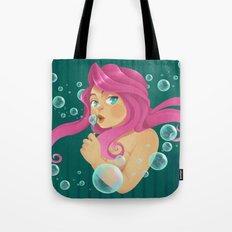 Pink & Bubbling Tote Bag