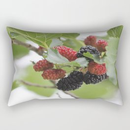 Mulberries Rectangular Pillow