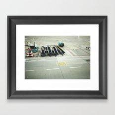 pre flight Framed Art Print