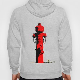 Red Fire Hydrant VS6S Hoody
