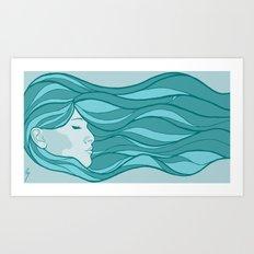Deep Under Water Art Print