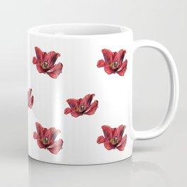 Burning tulip Coffee Mug
