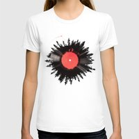 T-shirts featuring The vinyl of my life by Robert Farkas