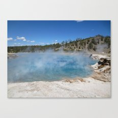 Left my heart in Yellowstone Canvas Print