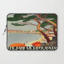 Vintage poster - Cote D'Azur, France Laptop Sleeve