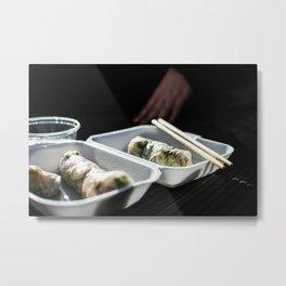 Asian Food 02 Metal Print