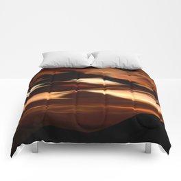 Surreal Sunset Comforters