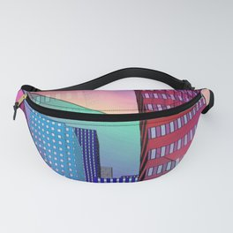 look into the sky -7- Fanny Pack