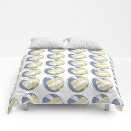 Volleyball Art Comforters