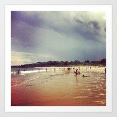 Singing Beach, Day 5 Art Print