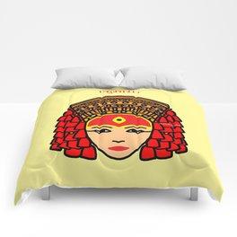 The Living Goddess Comforters