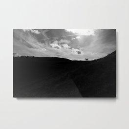 Hill Climbing Metal Print