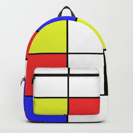 Mondrian #23 Backpack